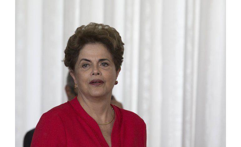 Rousseff promete oponerse a nuevo gobierno de Brasil