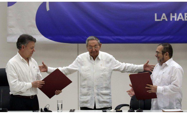 Santos: Colombia-FARC firmarán acuerdo de paz a fines de mes