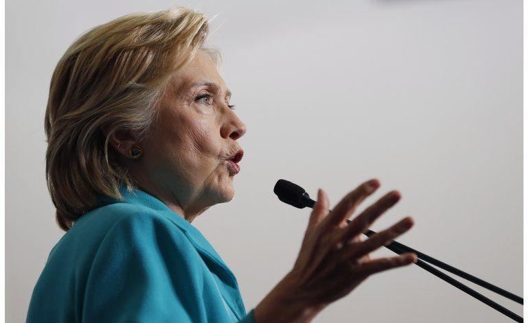 Clinton tiene mucho por hacer antes de elecciones