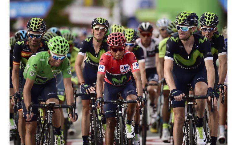 Gesink gana 14ta etapa de la Vuelta, Quintana sigue de líder