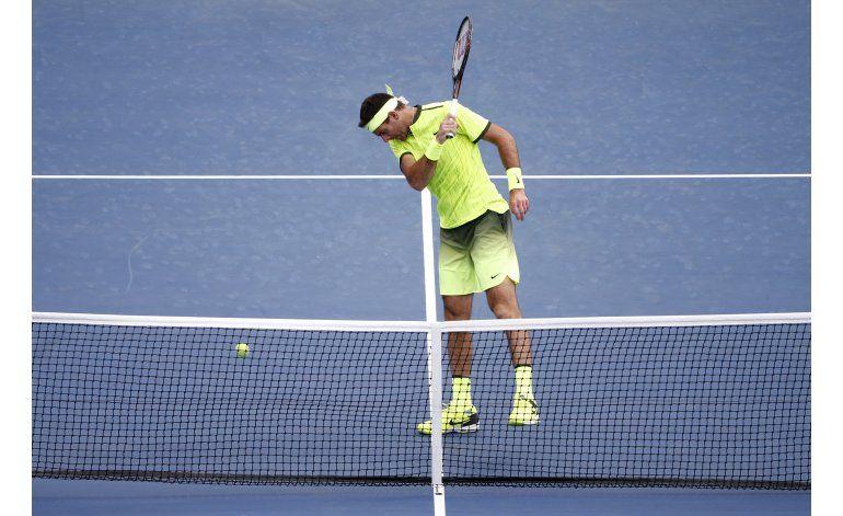 US Open: A paso firme, Del Potro se mete en octavos