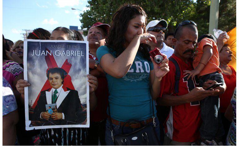 Juan Gabriel regresa a casa, su amada Ciudad Juárez