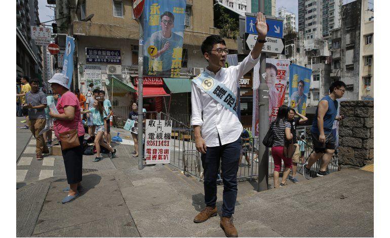 Elecciones en Hong Kong reflejan oposición a China