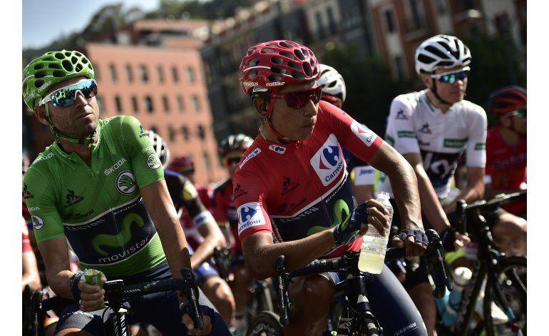 Contador ataca; Quintana mejora su ventaja en Vuelta
