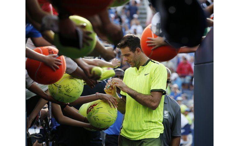 US Open: Sin entrenador, Del Potro se siente libre