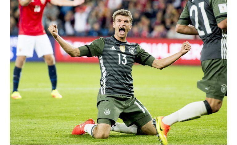 Alemania e Inglaterra comienzan eliminatoria con triunfos