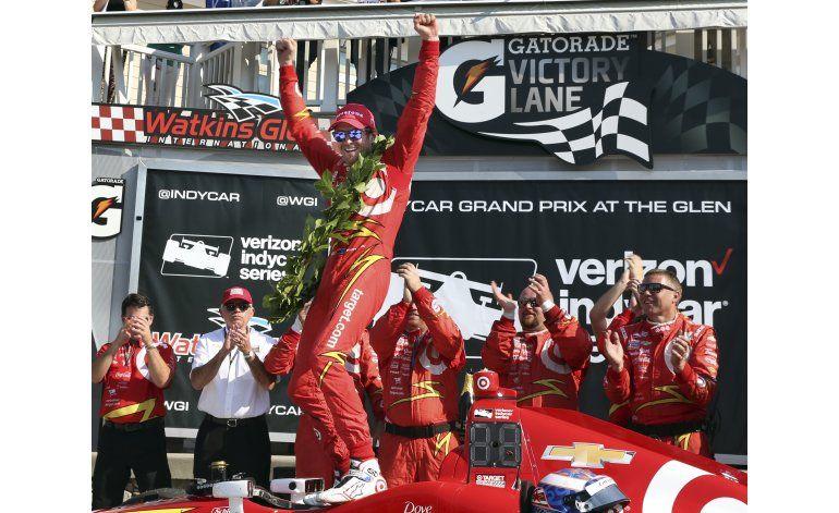 Dixon gana carrera de IndyCar en Watkins Glen