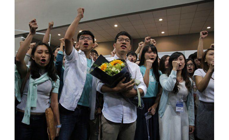 Hong Kong: Voto contra China impulsa a jóvenes activistas