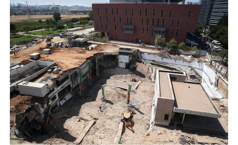 Tel Aviv: 4 personas atrapadas tras derrumbarse un edificio