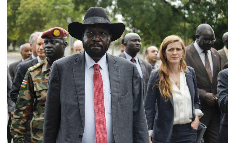 Sudán del Sur desea limitar presencia de cascos azules