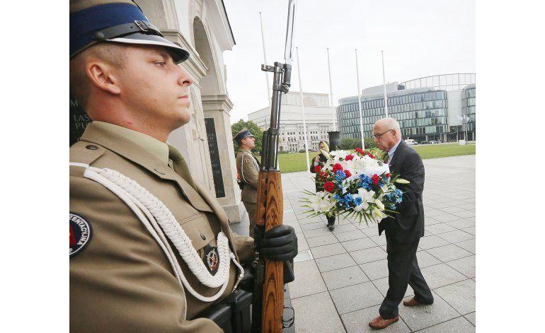 Polonia: Hijos de prisioneros de guerra de EEUU en homenaje