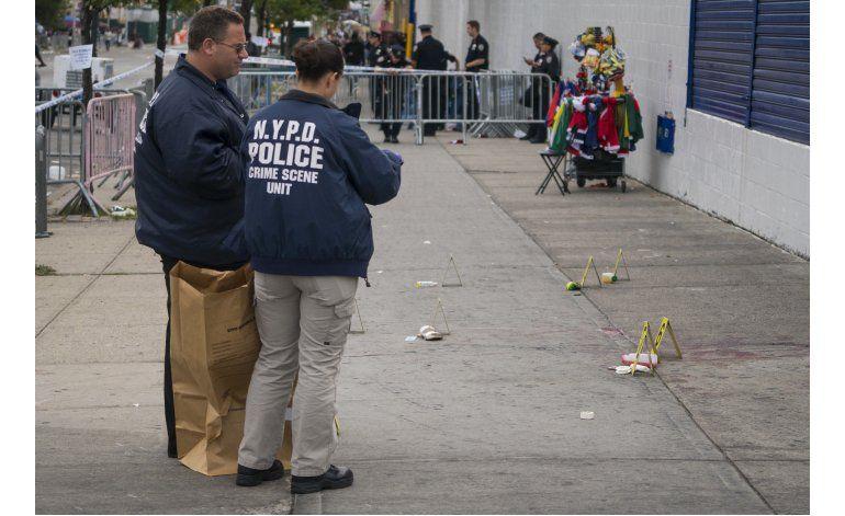 Dos muertos a tiros durante festival caribeño en NYC