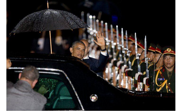 Obama en Laos, primera visita de un presidente de EEUU