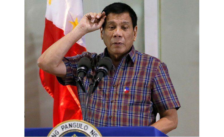 Obama cancela reunión con presidente filipino