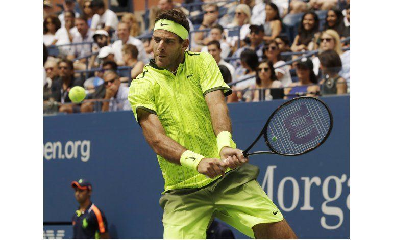 US Open: Del Potro avanza a cuartos tras retiro de Thiem