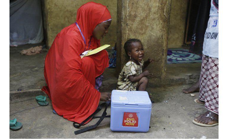OMS confirma tercer caso de polio en Nigeria