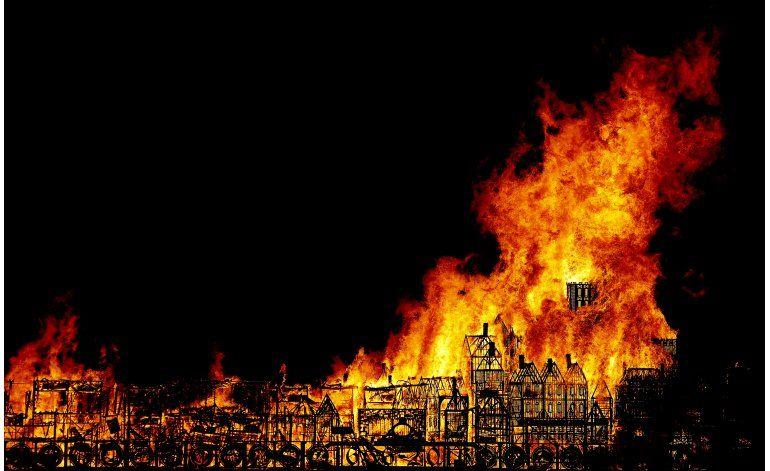 Conmemoran el Gran Incendio de Londres de 1666