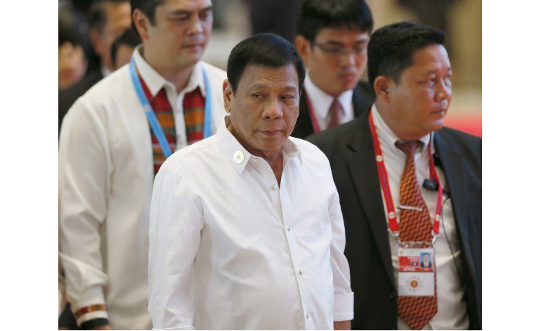 Filipinas: presidente lamenta comentario de hijo de perra