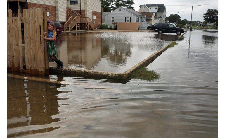 Hermine pierde fuerza pero aun causa lluvias al este de EEUU