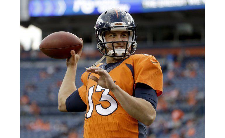 Campeones Broncos inician campaña de NFL con dudas