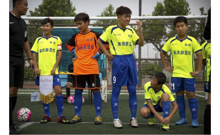 China usa todo el poder del estado para promover el fútbol