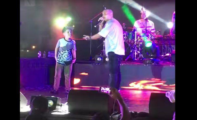 Niño cubano de Miami cumplió su sueño de bailar con Jacob Forever