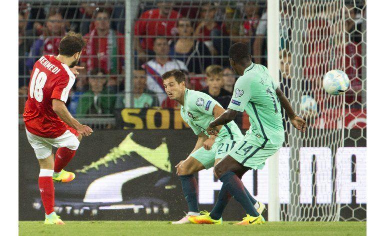 Mal comienzo de Portugal y Francia en eliminatoria