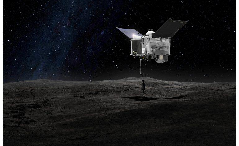NASA va tras asteroide para traer muestras de superficie