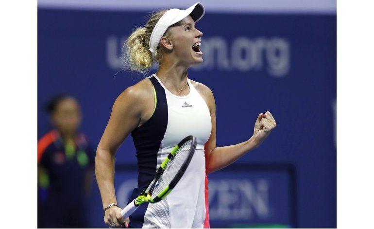 Kerber y Wozniacki se citan en las semis del US Open