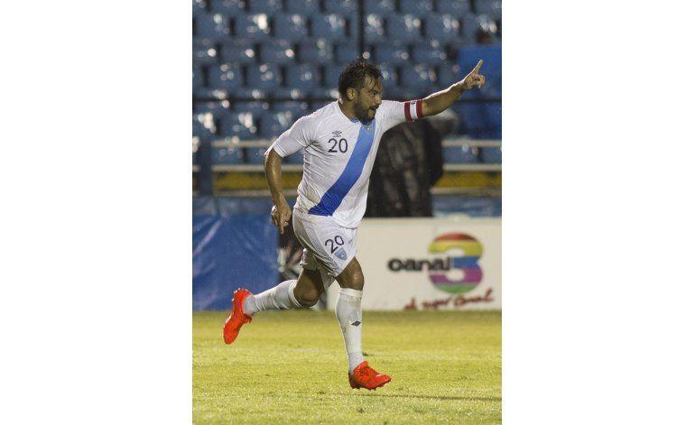 Ruiz se despide en goleada 9-3 de Guatemala a San Vicente