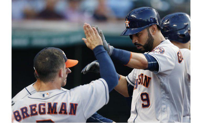 González aporta jonrón a triunfo de Astros sobre Indios