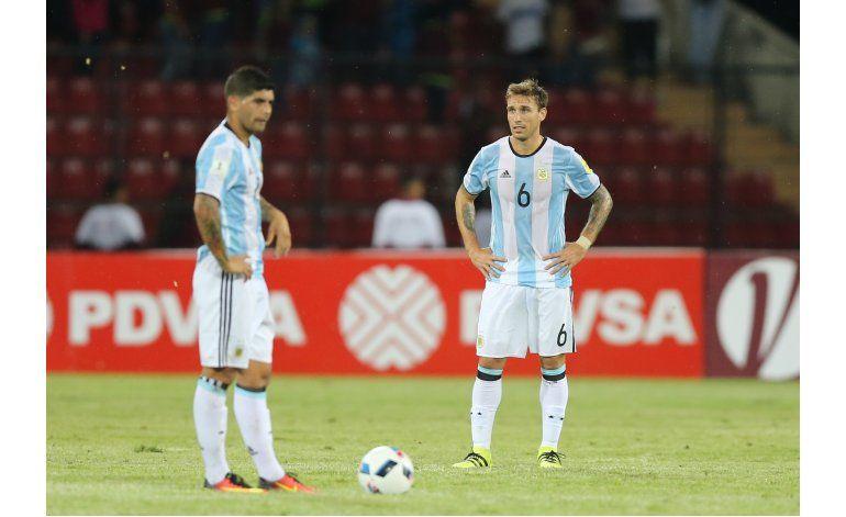 Mundial: Argentina sufre y empata 2-2 ante Venezuela