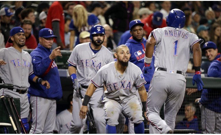 Andrus has HR, 3 doubles to pace Rangers past Mariners 10-7
