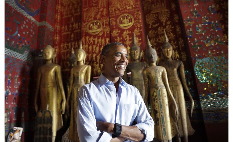 Obama rinde homenaje a cultura de Laos para estrechar lazos
