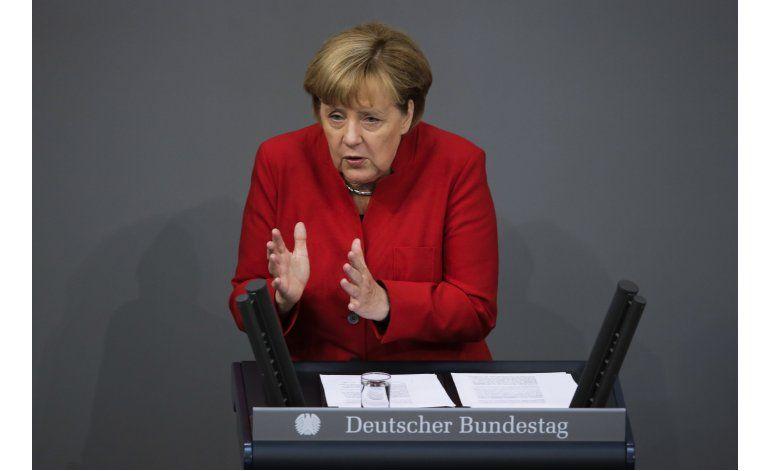 Merkel: La situación migrante ha mejorado mucho en Alemania