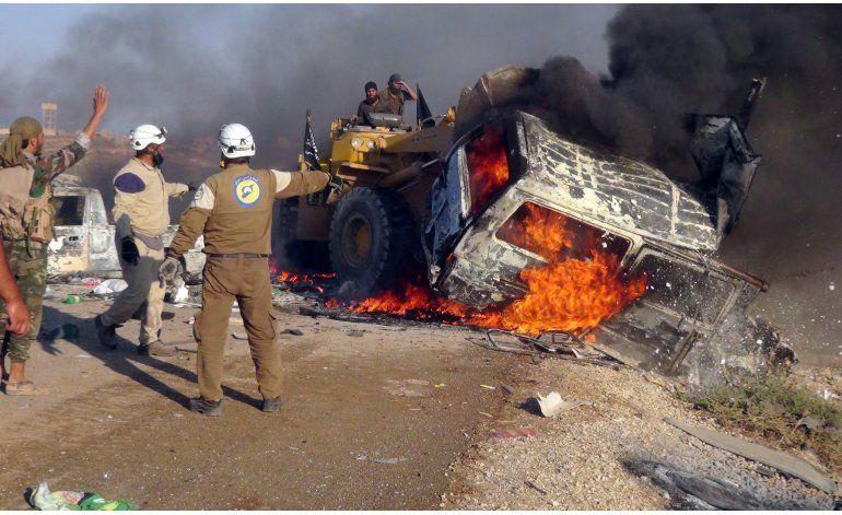 Siria: Mueren 10 civiles en nuevo ataque en Alepo