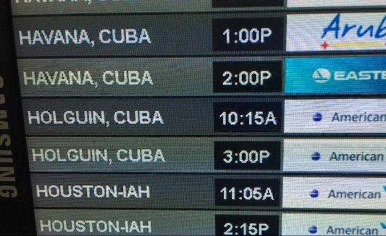 American empieza a volar hoy a Cienfuegos y Holguín