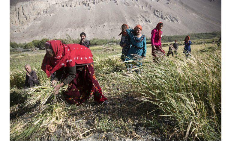 Paz, y extrema pobreza, en rincón perdido de Afganistán