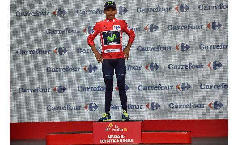 Quintana conserva liderato de la Vuelta a España