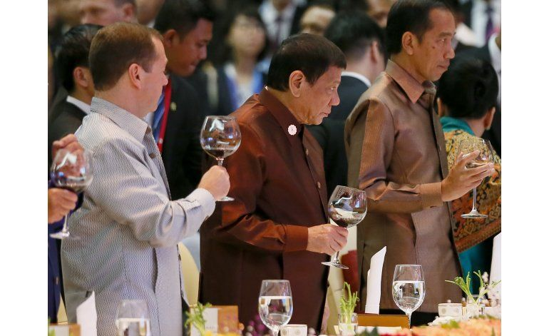 Duterte, un duro que no se inclina ni ante Obama