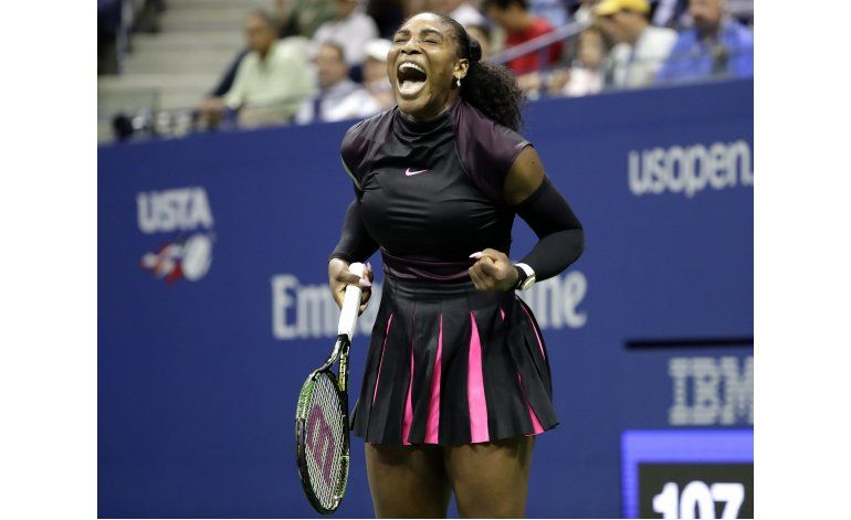 US Open: Serena Williams supera a Halep y repite en semis