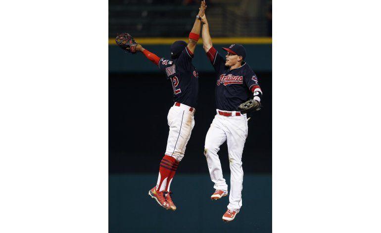 Carrasco y Guyer encabezan triunfo de Indios sobre Astros