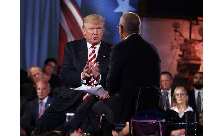 Trump dice que cambiaría generales reducidos a escombros