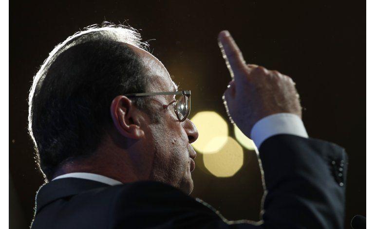 Hollande da a entender que podría aspirar a la reelección