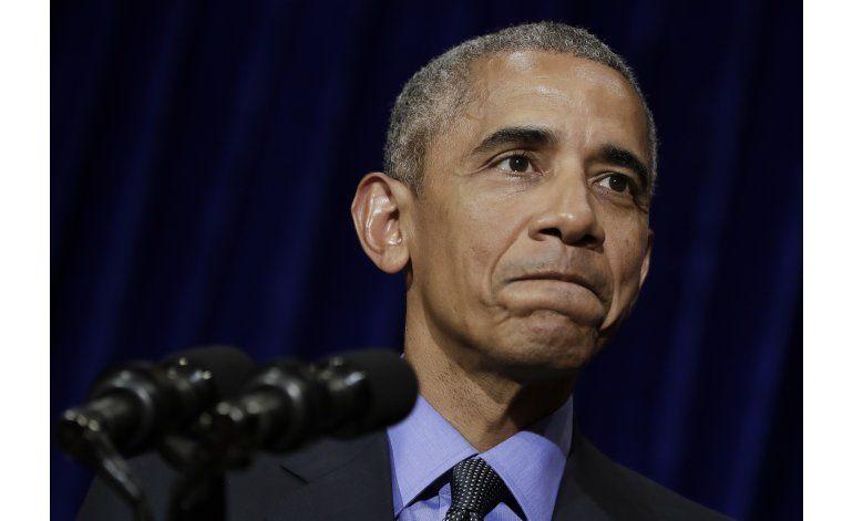 Obama: los votantes rechazarán ideas chifladas de Trump