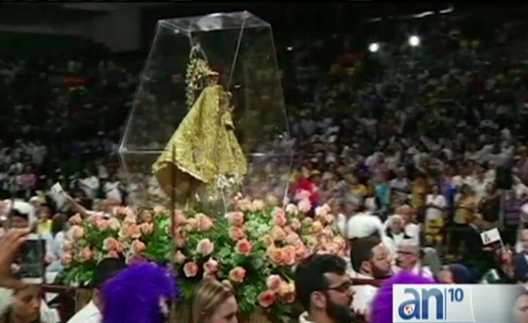 Celebran el día de la Virgen de la Caridad del Cobre en Miami