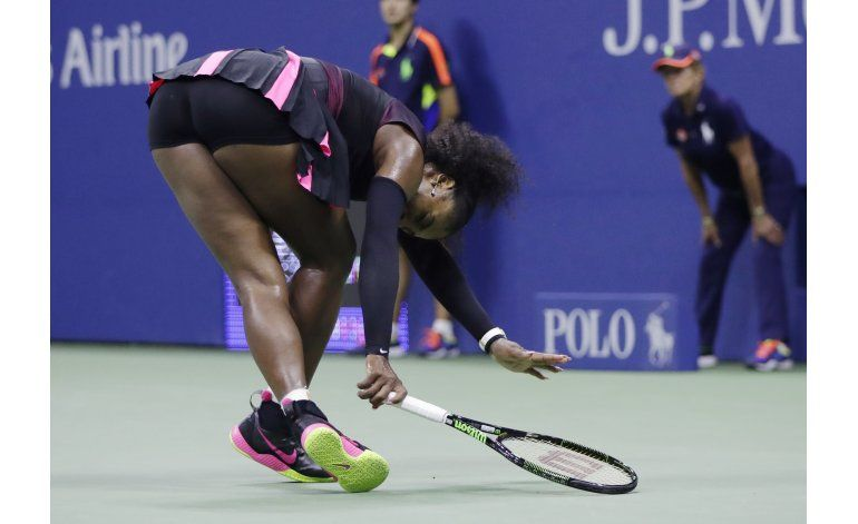 US Open: Serena Williams vuelve a estrellarse en semis