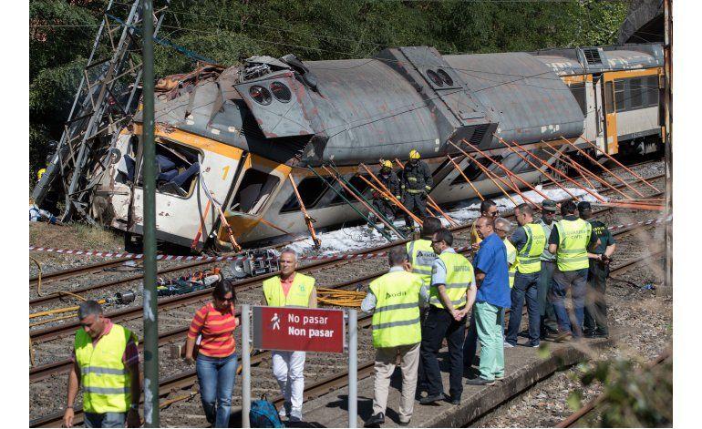 Se descarrila tren en España; cuatro muertos y 48 heridos
