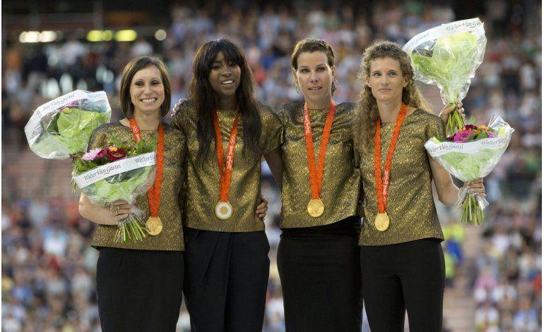 Relevo femenil 4x100 de Bélgica recibe oro de Beijing 2008