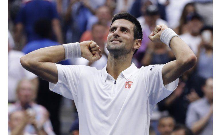 US Open: Djokovic enfrentará a Wawrinka en la final
